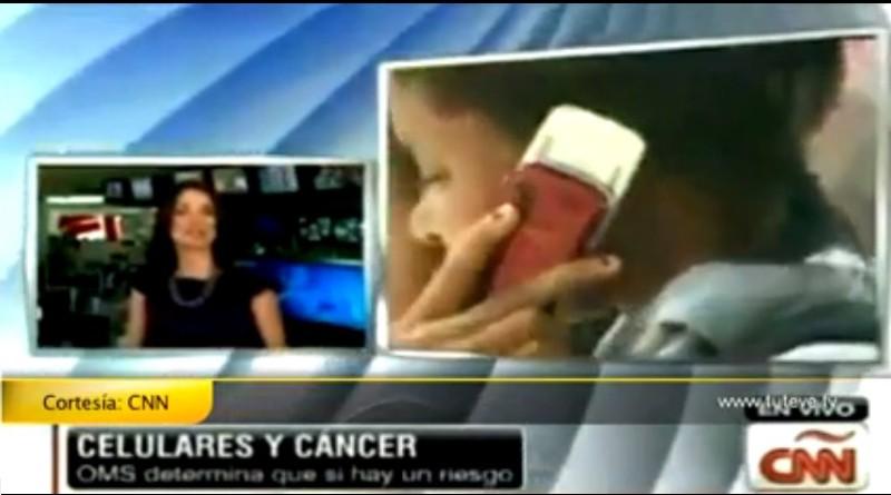 CNN: La OMS cataloga como posible cancerígeno a la telefonía móvil